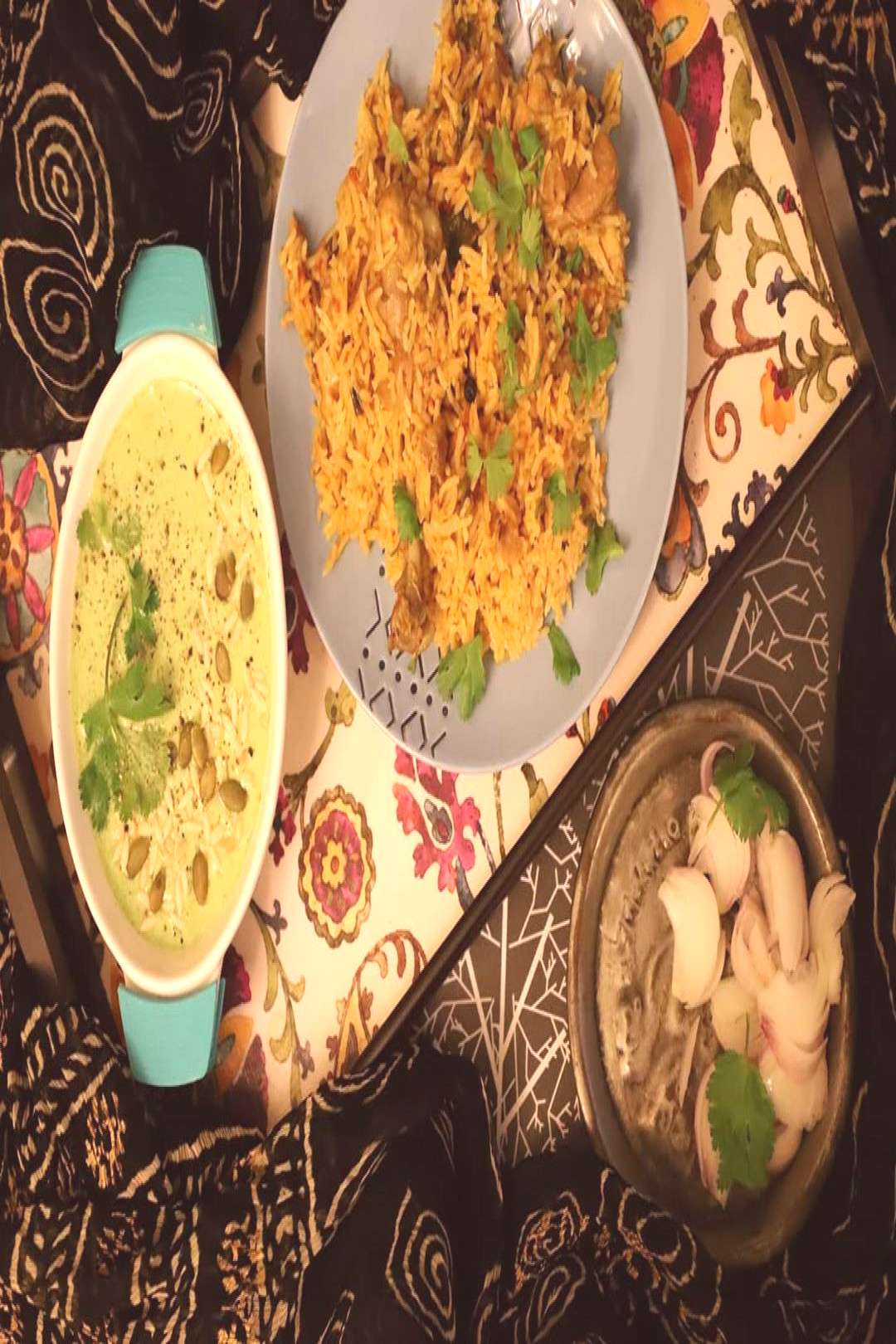  Most of the days we eat simple Indian food..... because that