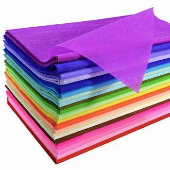 120 Sheets Colored Tissue Paper Bulk Wrapping Craft Paper 20