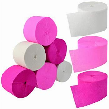 Crepe Paper Streamers for Valentine's Day, Jerbro 738 Ft