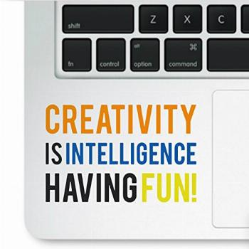 Decal & Sticker Pros Motivational Quote - Creativity is