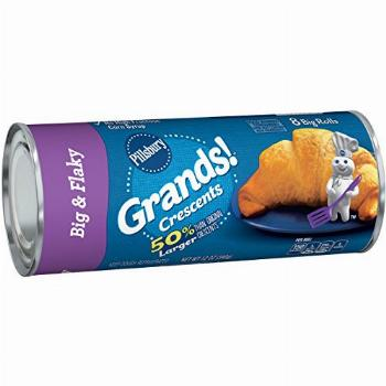 Grands Big and Flaky Crescents, 12 Ounce - 8 per pack -- 12