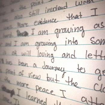 I started off writing because I was insecure about sharing my emo