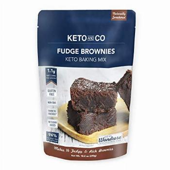 Keto Fudge Brownie Mix by Keto and Co | Just 1.1g Net Carbs