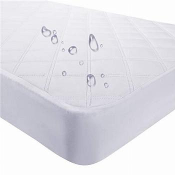 Waterproof Fitted Crib Mattress Pad and Toddler Crib