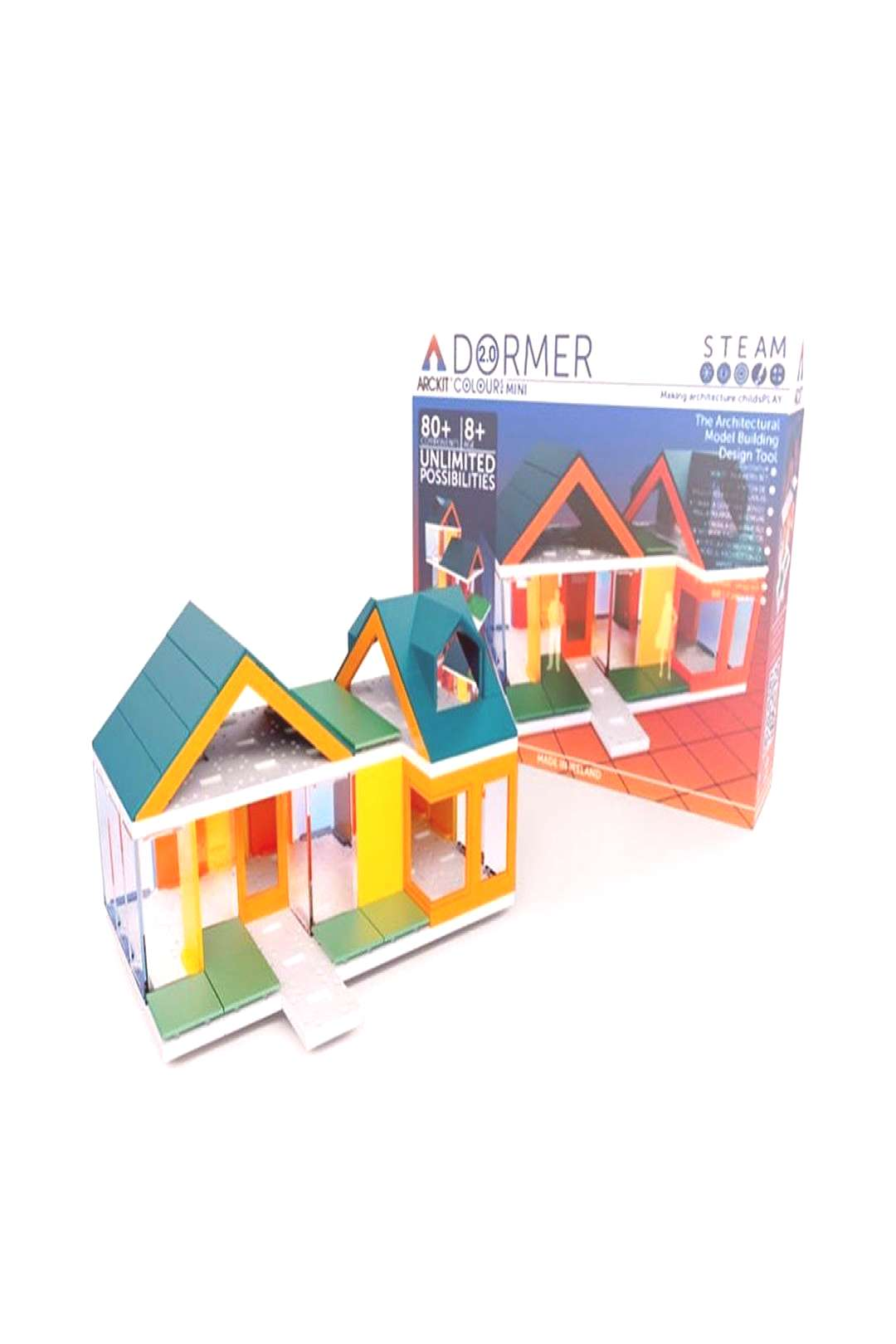 A puzzle in 3D, ARCKIT is an architectural modelling system that