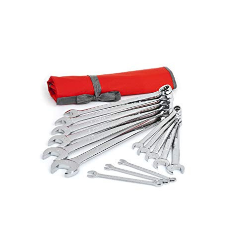 Crescent 14 Pc. 12 Point SAE Combination Wrench Set with