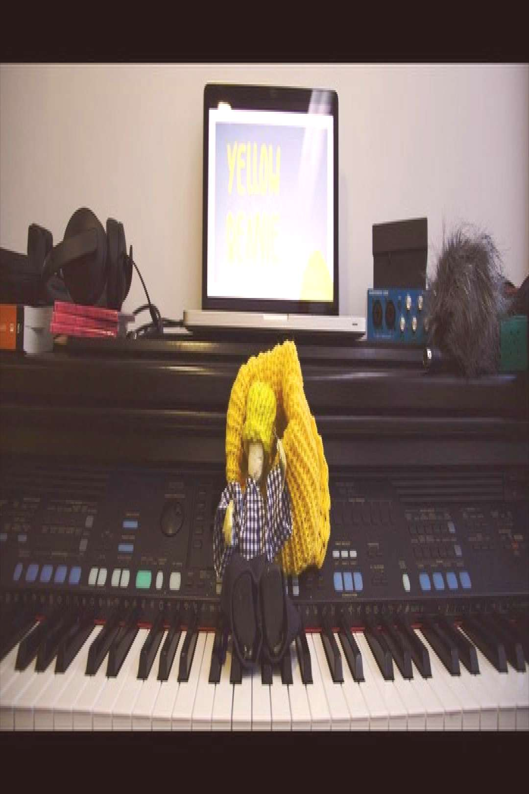 Crowdfunding for a new project starting soon ️ #yellowbeanie #m