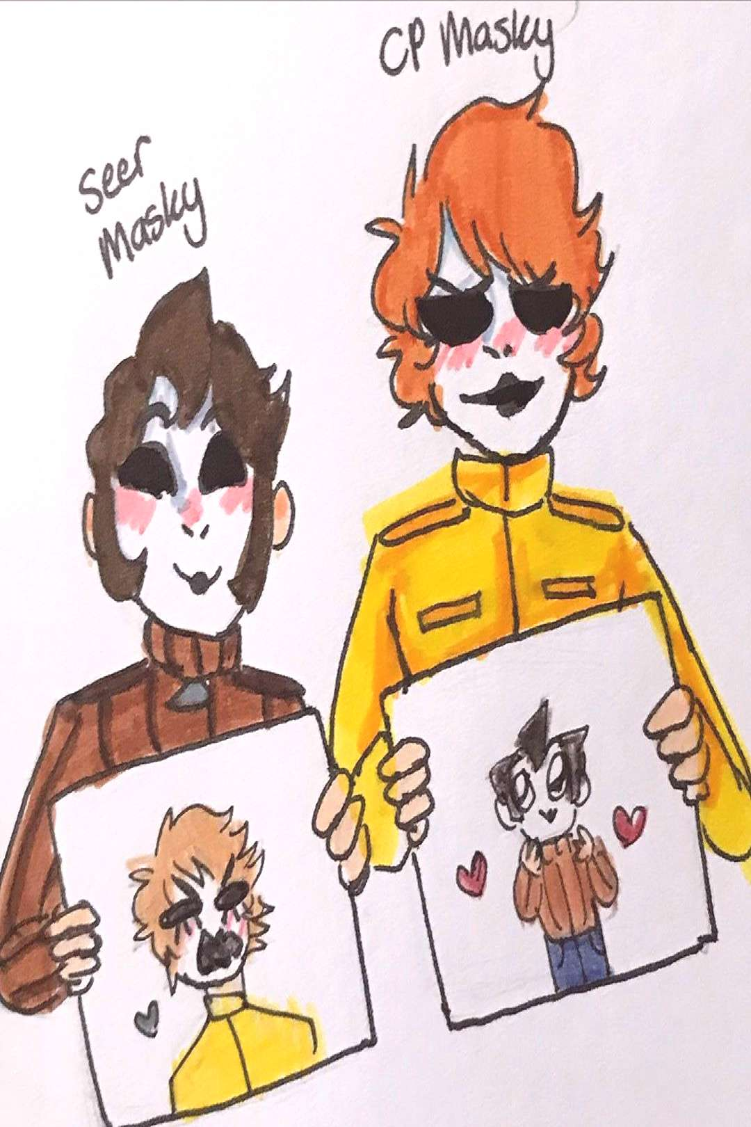 quotI just think theyre pretty neatquot Here are the boys and them dra