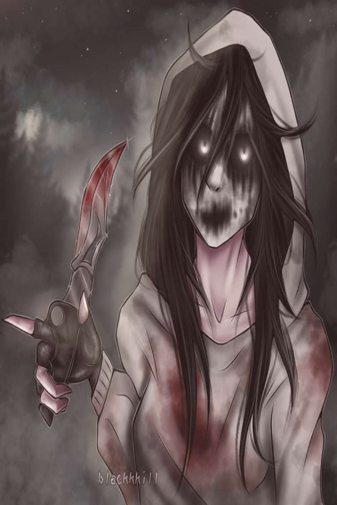 Kate the Chaser My favorite character from Creepypasta Girls is o