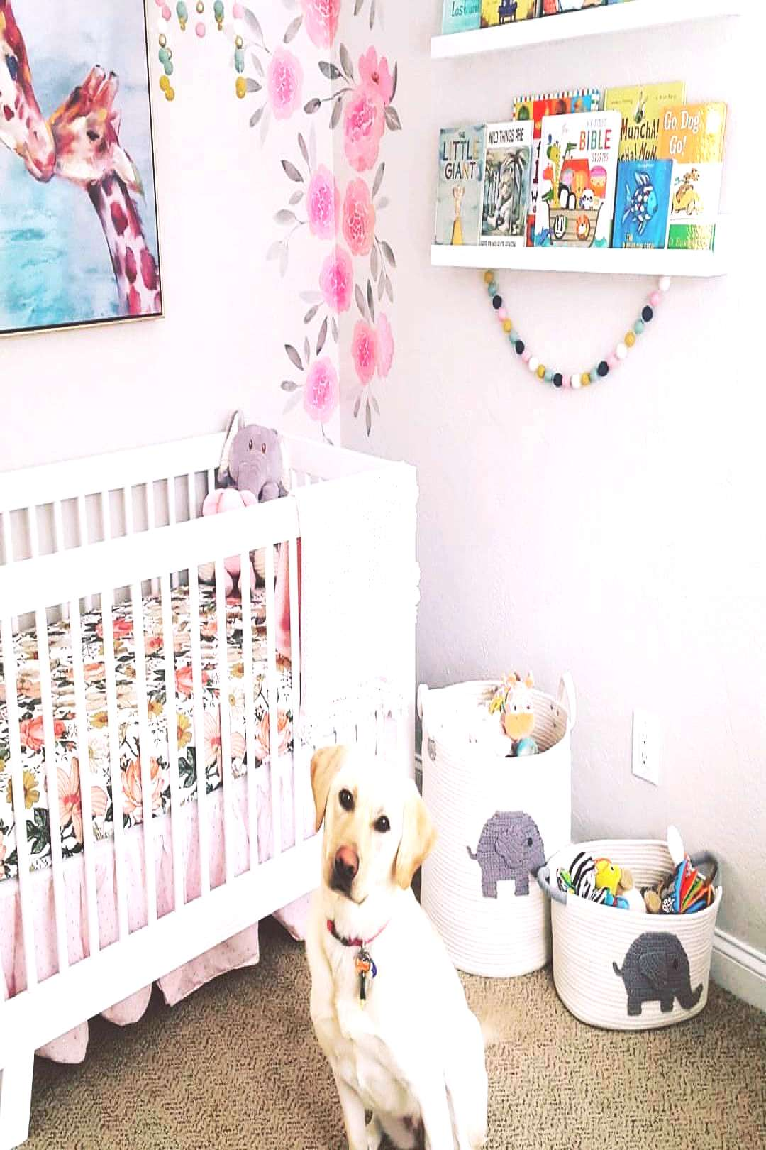 Loved styling our girls nursery. This project was so much fun I c