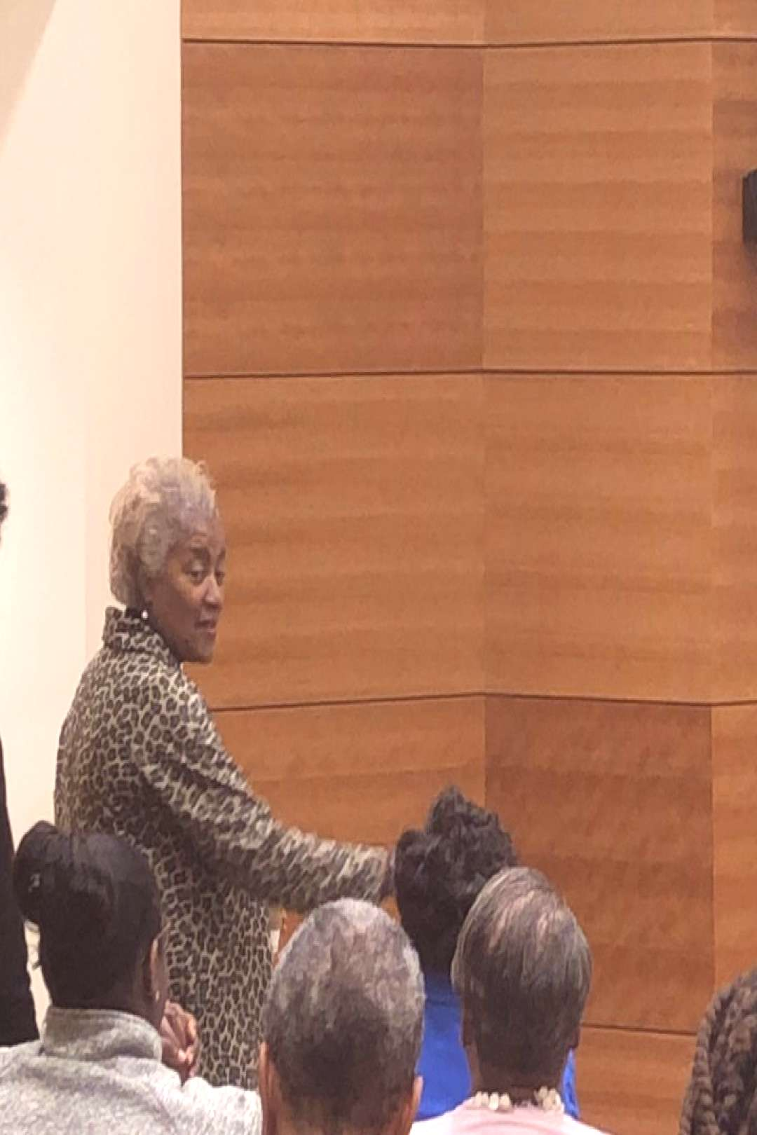 Ms Donna Brazile - special guest at NSU! She urges us to use our