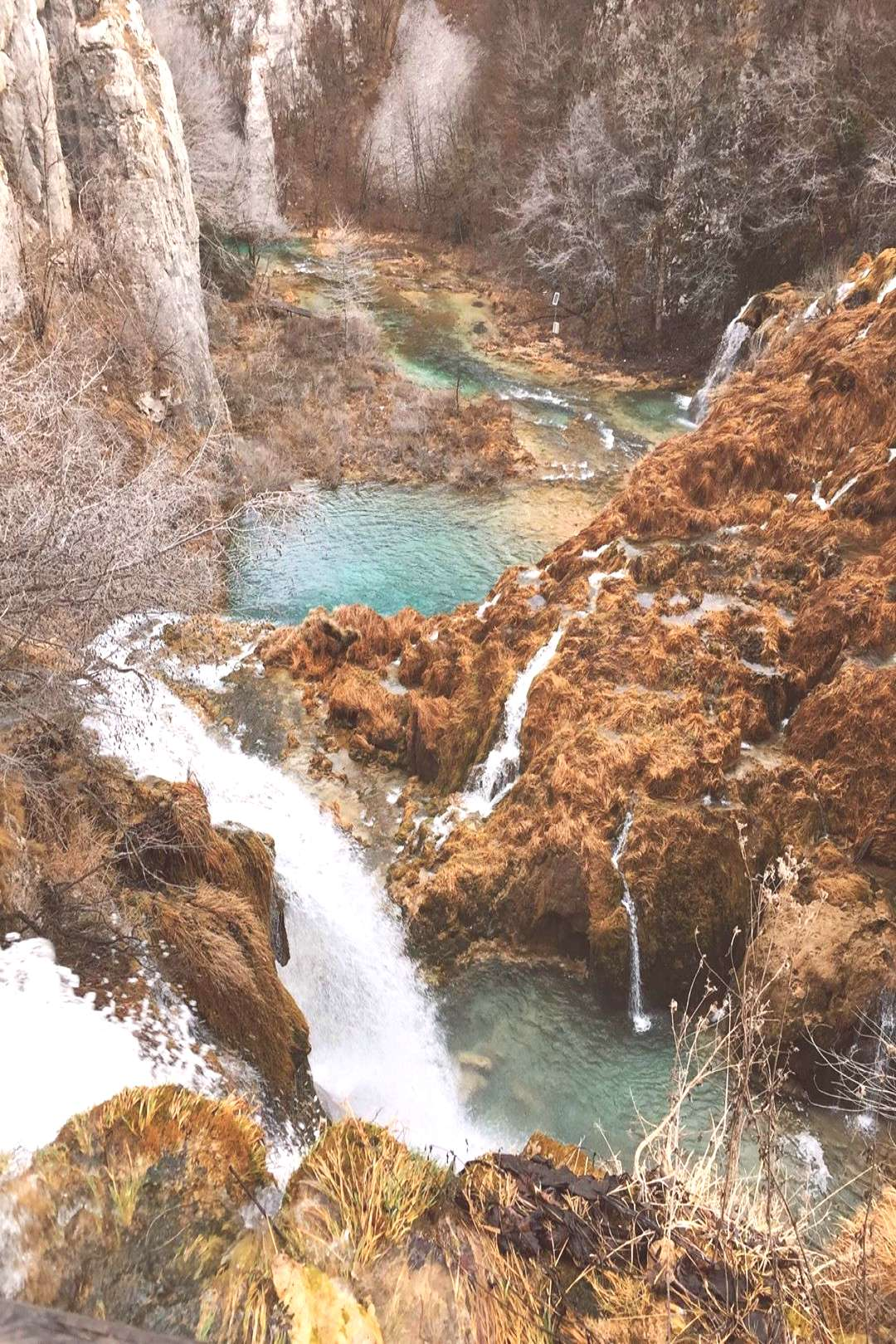 The Plitvice Lakes National Park is the oldest and largest nation