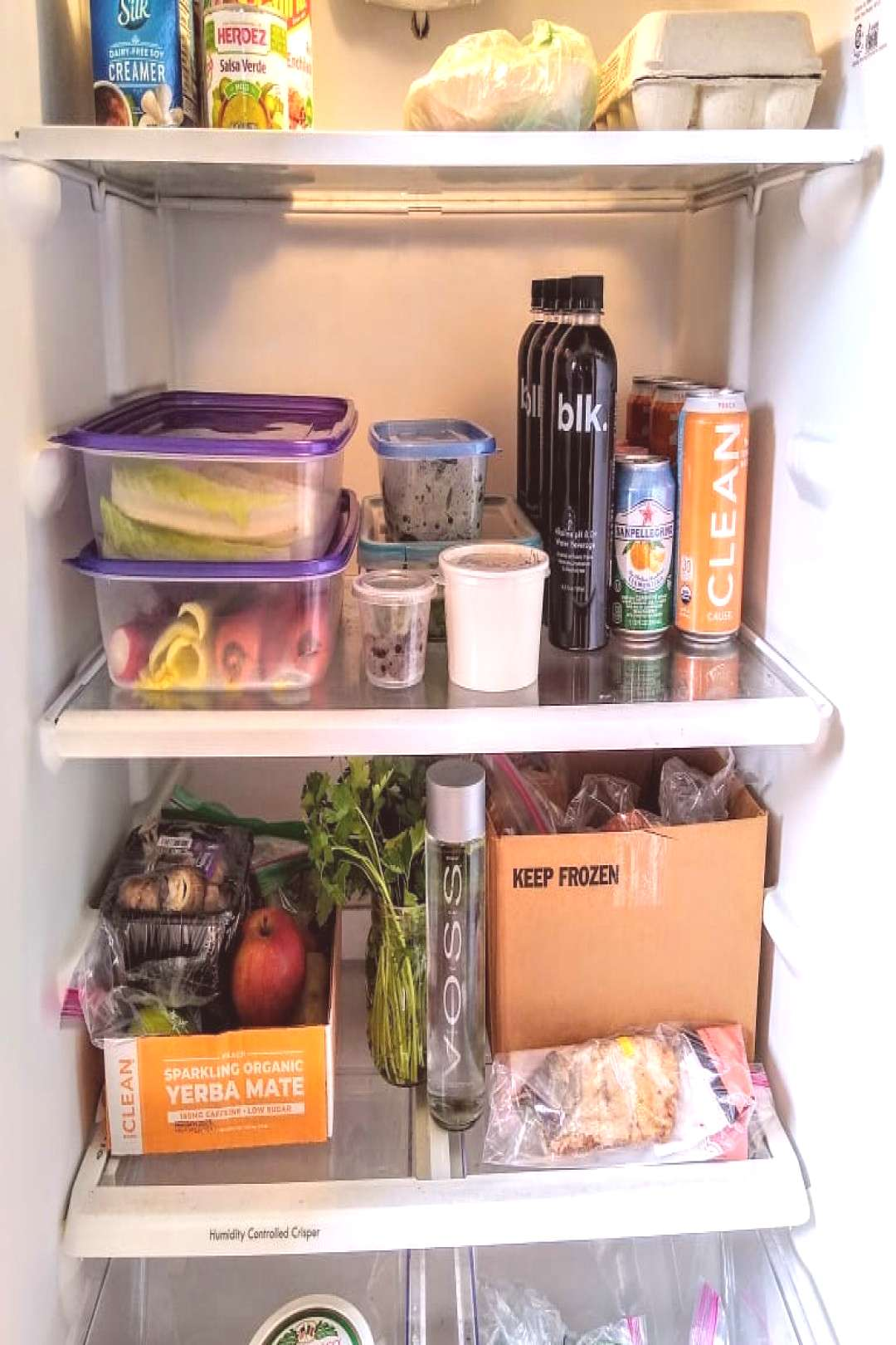 You know in CRIBS when they open the fridge? I love looking in pe